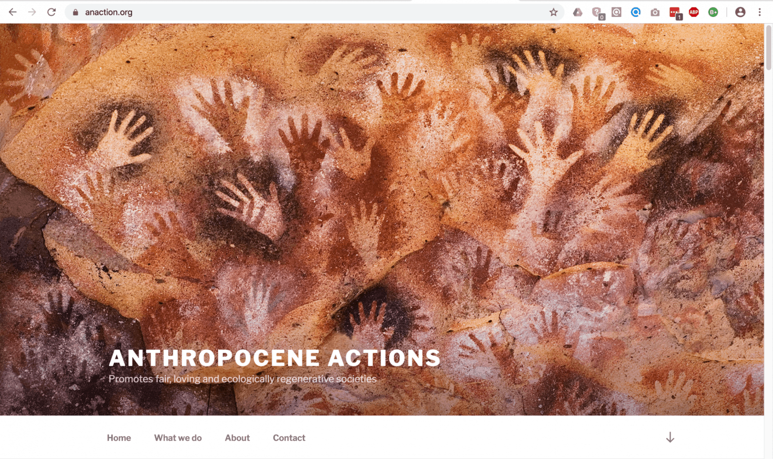 Anthropocene Actions